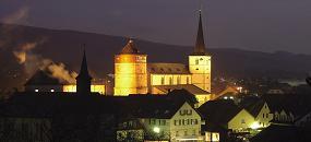 Bischofsheim a.d.Röhn - Stadtturm, Stadtpfarrkirche