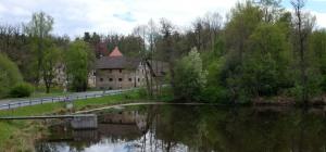 Ansicht auf das Gut Hammerschloss Röthenbach